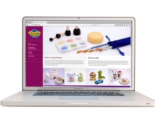 Funky Potters Website