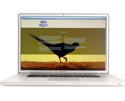 H & M Meats Website